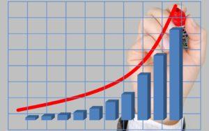 increasing cash value graphic